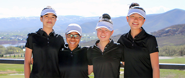 Girls Golf Team Repeats as State 2A Champions