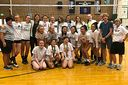 Volleyball Team Gets Visit from Former Olympian