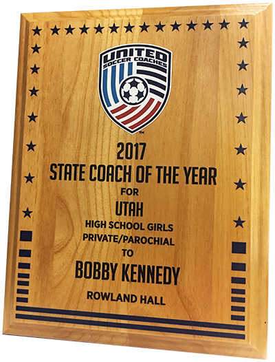 State Coach of the Year award