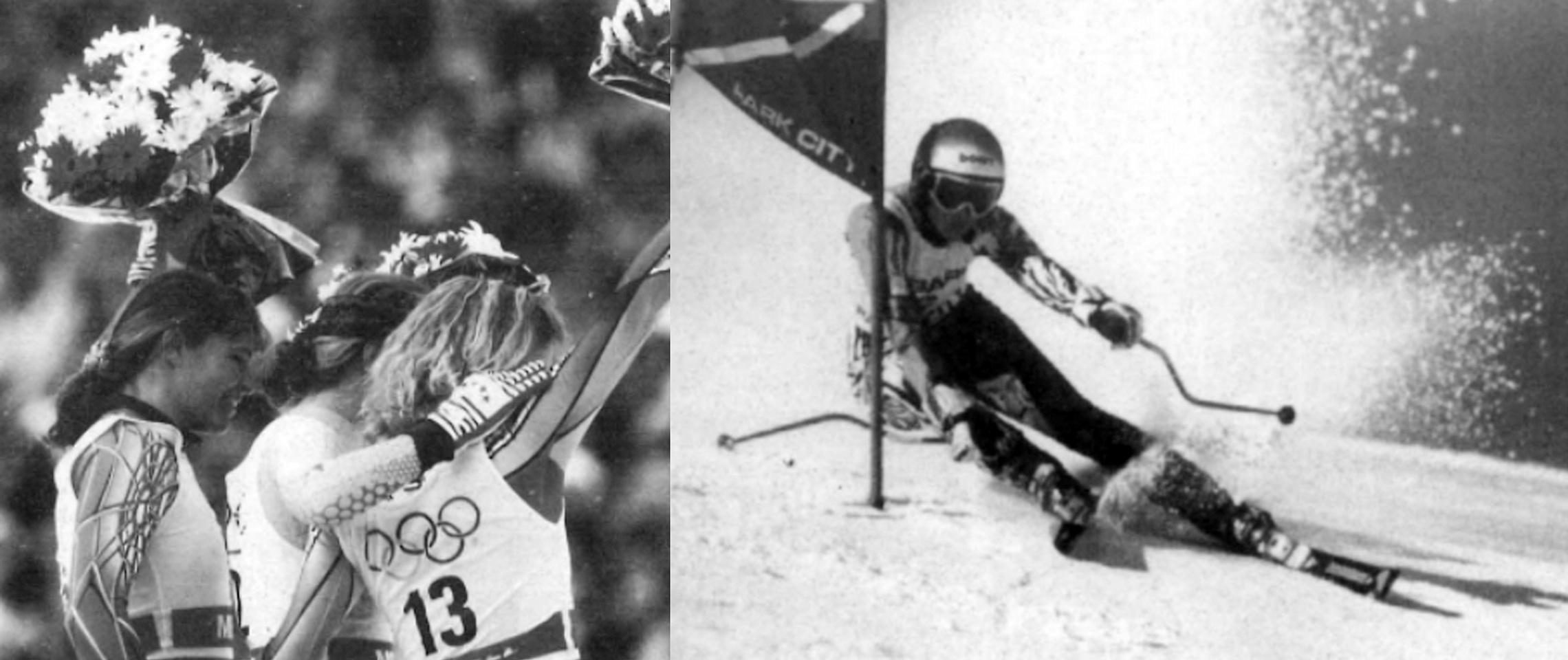 Hilary Lindh gets silver in 1992 Olympics; Alex Shaffer in 1995